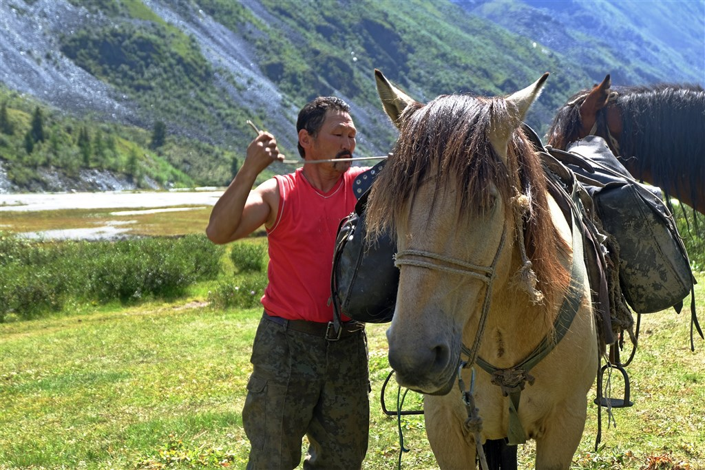 Ruský altaj - na raftu, pěšky i na koních